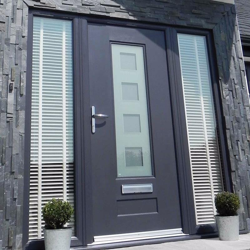 Modern style composite door